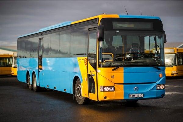 レイキャビク・シティーカードなら公共バスが無料になる
