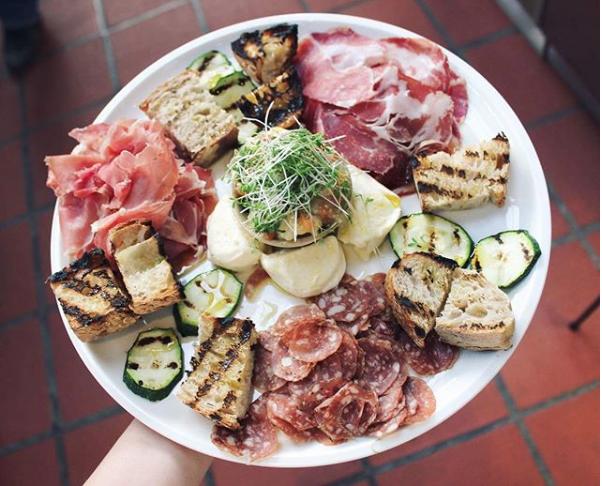 Salumi platter from Borðið at Hlemmur Food Hall
