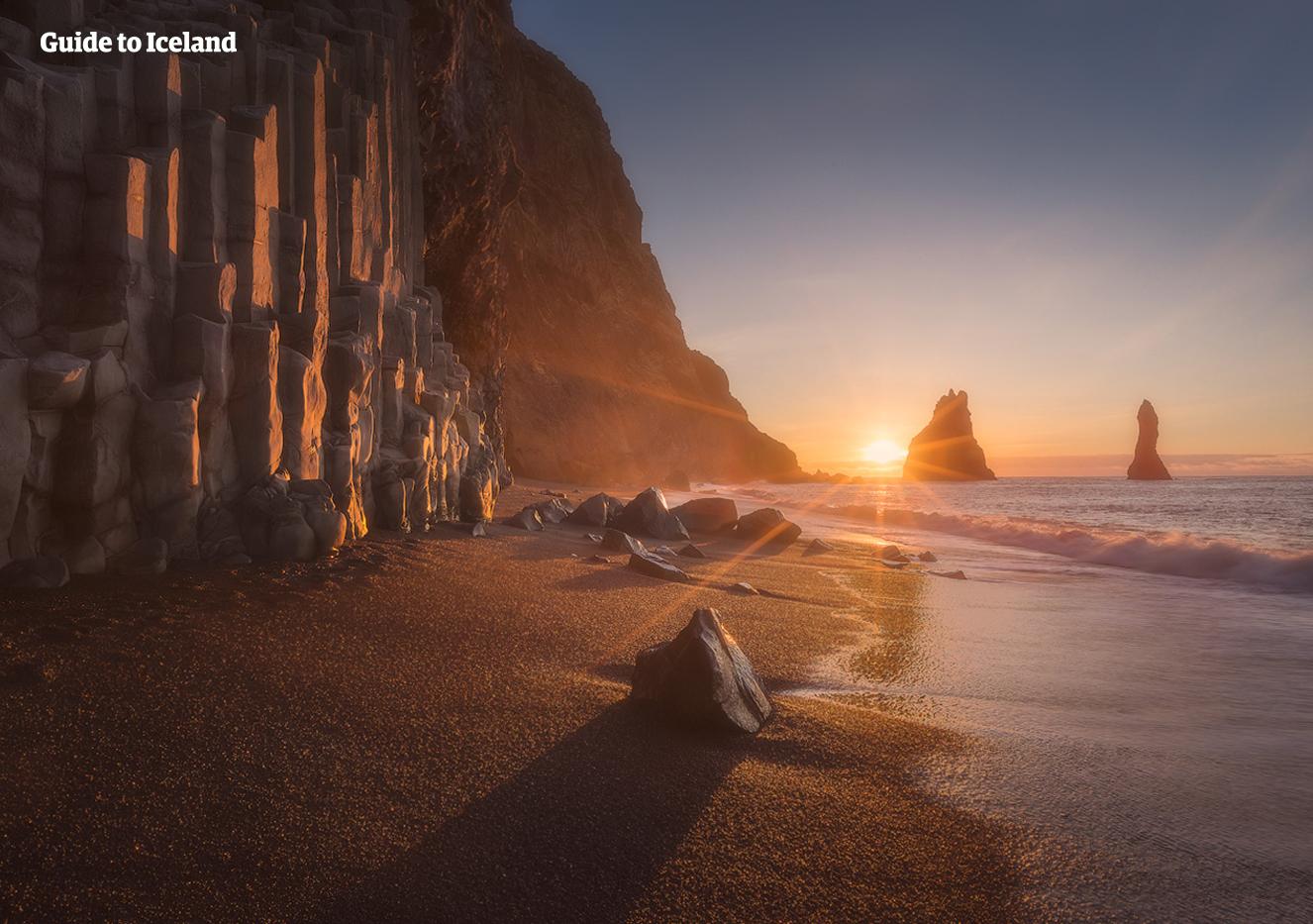 探索冰岛南岸